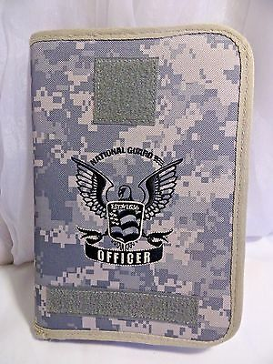 National Guard 100% American Soldier Zip Up Planner/ Camouflage (Officer)