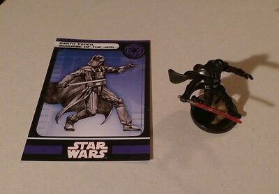 Star Wars Miniatures 2008 Knights of the Old Republic DARTH VADER 33/60 w/Card