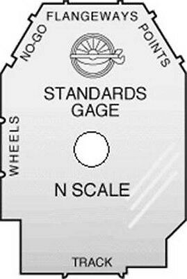 NMRA Inc.  Standards Gauge   N Scale