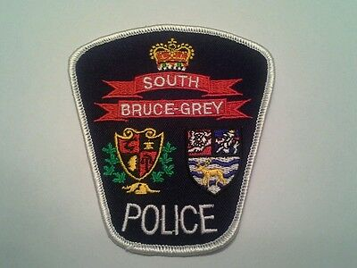 South Bruce-Grey Police Patch - Ontario Canada