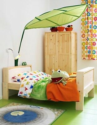 Ikea LOVA Leaf Canopy Green Kids Baby Children's Bedroom Decoration