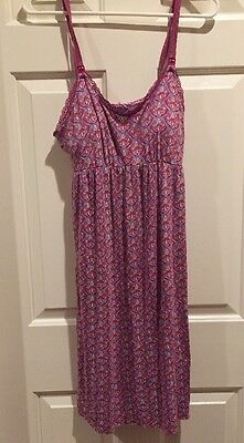 Bump In The Night/Maternity And Nursing Night Gown/size Small