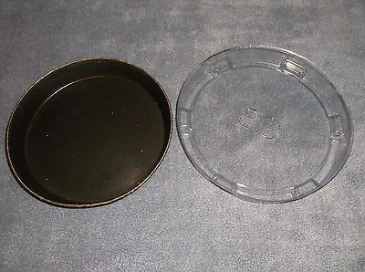Deep Dish Pizza Pan Personal Pan- Crust Dominoes Hut- Restaurant Com-PLUS LID