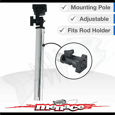 Fishing Boat Bait Board Mounting Pole Axis Aluminium - Mount in Rod Holder