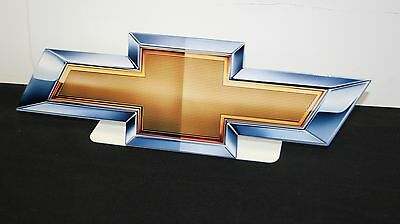 New CHEVROLET GM Bowtie 2010 - Free Standing - Metal Sign - PhotoSTEEL