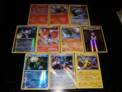 Pokemon tcg - XY series cards - Rare, Holo, Reverse Holographic lot (10 cards)
