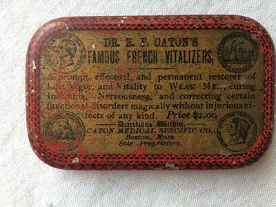 Somer Bros Dr. Caton Medical Specific Tablets Tin Pharmacy Medicine DIsorders