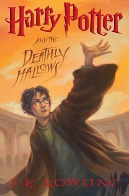 Harry Potter and the Deathly Hallows BOOK 7 Hardcover J K Rowling FREE SHIP jk