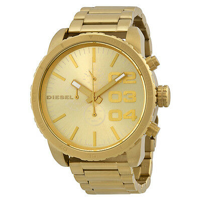 DZ4268 - New Diesel Franchise Gold Tone Stainless Steel Chronograph Men's Watch
