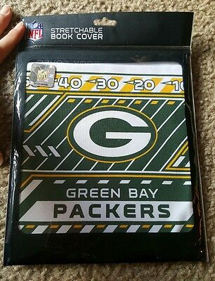 New Green Bay Packers Stretchable Book Cover