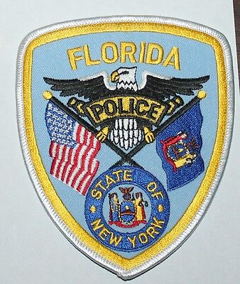 FLORIDA POLICE DEPT New York NY PD patch