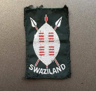 Swaziland Scout badge / African Scouting patch / Africa scouts