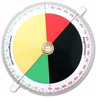 Angleviewer 180 Educational Accessories Revolutionary Tool Measure Acute Obtuse