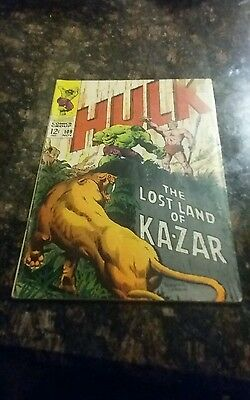 Incredible Hulk #109 FN/VF condition Huge auction going on now!