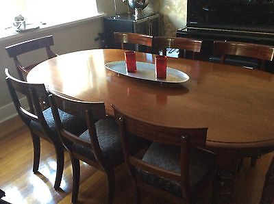 Magnificent French Polished Mahogany Dining Table