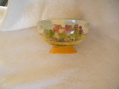 Royal Doulton Castles and Churches compote dish