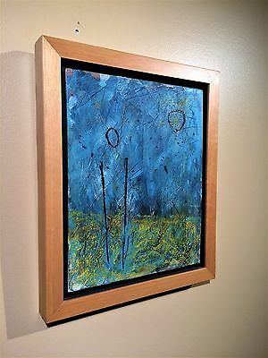 Original Oil on Board Framed Painting by Michael Kuchma 2001 Canadian Artist