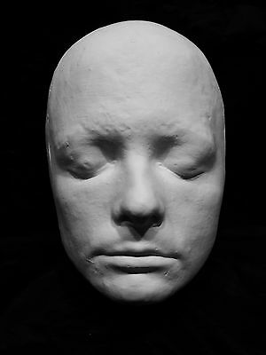 """Michael J. Fox Life Mask Life Cast in Hydrocal Plaster """"Back to the Future"""" !!!"""