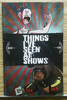 Things I've Seen at Shows #1 w/CD! Punk Rock Guide to concerts! Indie Comic!