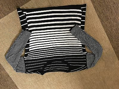 Country Road Black & White Striped Jumper, Size XS