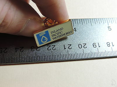 Inland Pacific Waterworks  Lapel Hat Pin 23A
