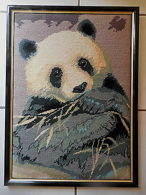Tapestry Picture Completed & Framed  Collection D'art Panda