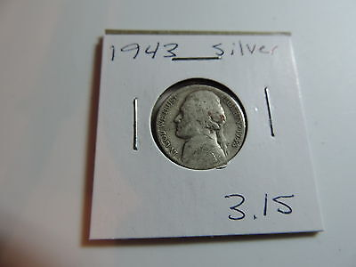 1943 US American Nickel coin A531