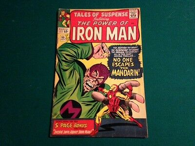 lot of Tales of Suspense Silver Age issues Iron Man Cap Mandarin