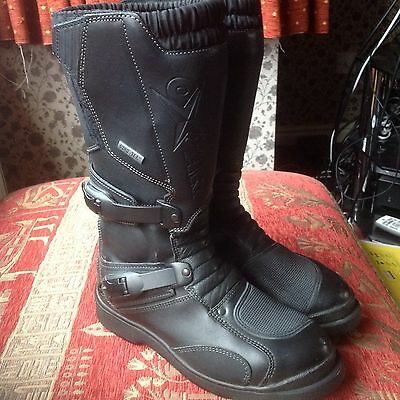 Oxtar Gore-tex Leather Motocross MX Off Road Motorcycle Boots