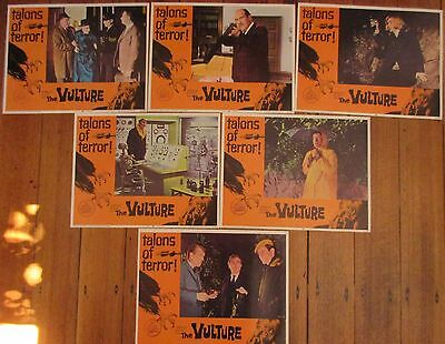 The Vulture (1966) - USA Lobby Cards (set of 6) / Robert Hutton