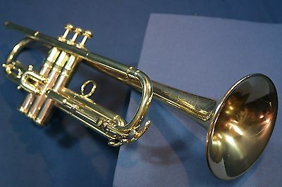 "Professional Jazz Horn-- 1924 Conn 24B ""Opera Grand"" Trumpet w/Case, Mouthpiece"