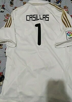 real madrid adidas ikers casillas jersey size xl