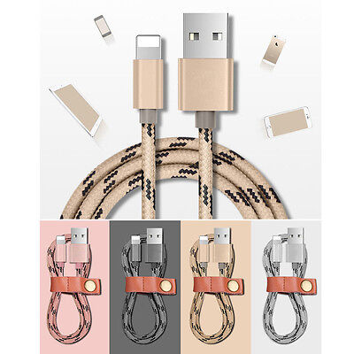 3FT/6FT Lightning USB Data Cable Charger for Apple iPhone 5S 5c SE 6+ 6plus