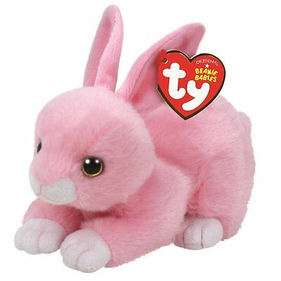 Ty Beanie Boos - Walker The Pink Bunny (Small)