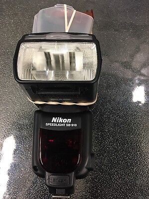 Nikon Speedlight Sb-910 Dslr Camera Flash