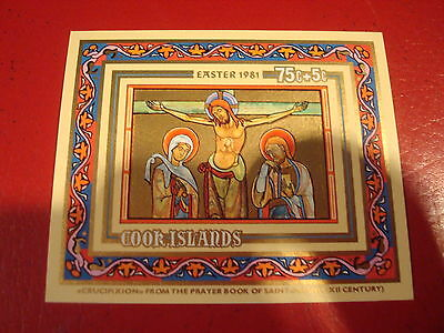 Cook Islands - 1981 Easter (2) - Minisheet - Unmounted Mint - Ex. Condition