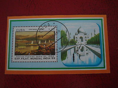 Central America - 1989 India - Minisheet - Unmounted Used - Ex Condition