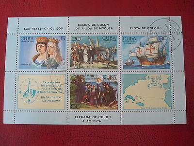 Central America - 1985 Espamer - Minisheet - Unmounted Used - Ex Condition