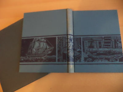 OLD VINTAGE FOLIO SOCIETY BOOK HERMAN MELVILLE engravings decorative cover