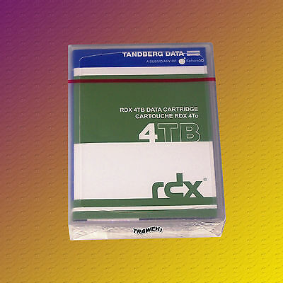 Tandberg 8824-RDX 4 TB, QuikStore Data Cartridge, Speichermedium, NEU & OVP