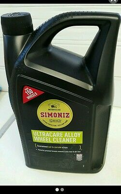 Simoniz Ultra Care Alloy Wheel Cleaner 5L (COLLECTION ONLY)
