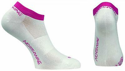 NORTHWAVE Calcetines ciclismo mujer GHOST blanco/fucsia