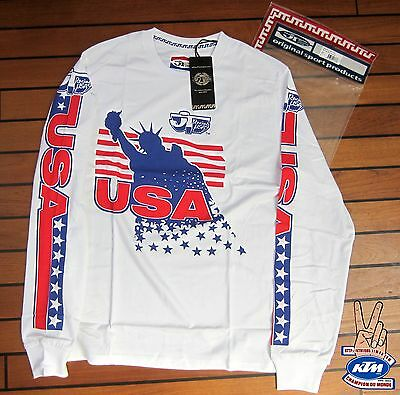 maillot moto JT racing usa david bailey 1986 CR honda vintage moto cross S