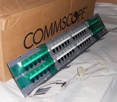 COMMSCOPE SYSTIMAX 360 iPatch GS3 Panel 48- P0RT Cat 6  760123497