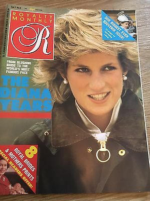 Royal monthly magazine ~ Princess Dianna~ Royal Family Collectible ~ Vintage