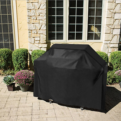 Heavy Duty Barbecue Covers BBQ Grill Gas Protector Waterproof Outdoor Practical