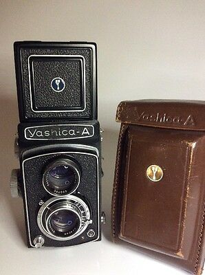 Yashica A TLR Camera 80mm f/3.5