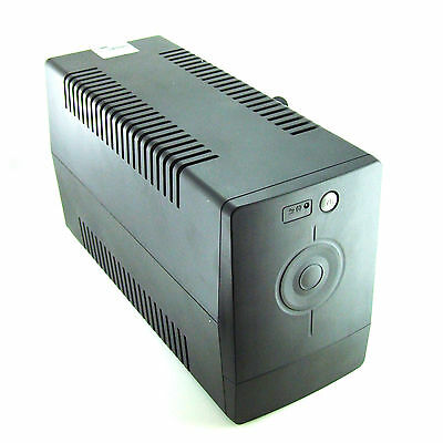 Generic Brand 1000SC USB 1000VA/600W Battery Backup (UPS System) with 4 UK Outle
