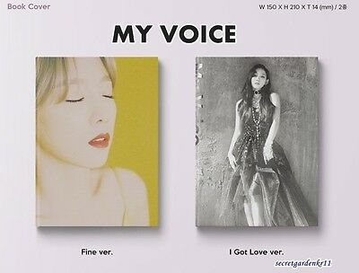 TAEYEON [MY VOICE] 1st Full Album Vol.1 : CD+Poster+Gift Photo, New Sealed SNSD
