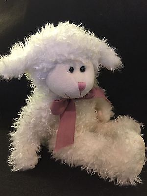 "Boyds Bears Tallulah Baahead 14"" Plush Easter Sheep/lamb. Retired. Rare in UK"
